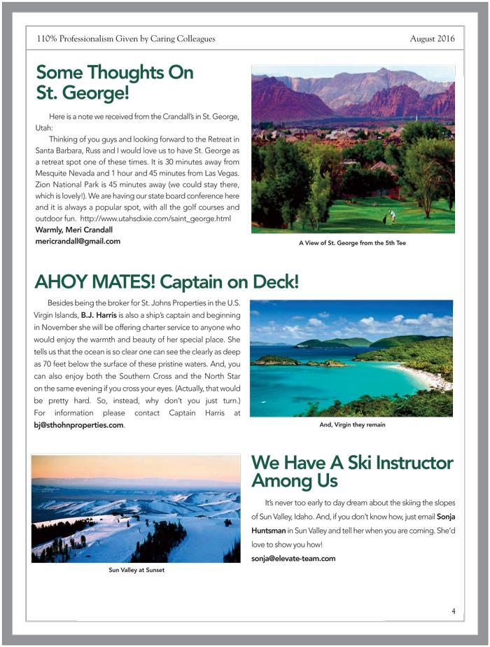 AREA Aug 2016 Newsletter